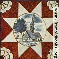 Dutch Delft ceramic tile 1