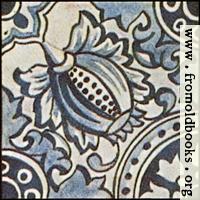 Dutch Delft ceramic tile 6