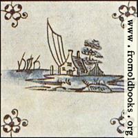 Dutch Delft ceramic tile 13