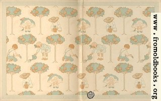 End Papers: children playing in the garden
