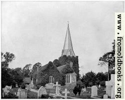 Churchyard of Stoke-Pogis, England