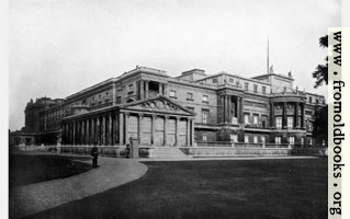 IV.—West Front of Buckingham Palace.