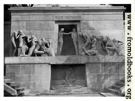 XXXIV.—Monument in the Cemetary of Père Lachaise, Paris.