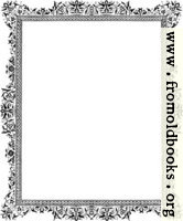 Decorative clip-art Victorian border, Black and White