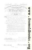 Haynes School Charter from 1850