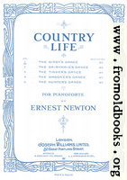 Music Cover: Country Life by Ernest Newton