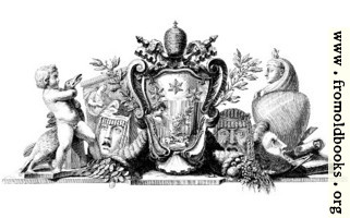 Heraldic Crest and Symbols of Industry