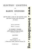 Title Page from Electric Lighting for Marine Engineers