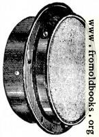 Fig. 60.—Bulkhead Fitting for Lighting two Cabins with one Lamp.