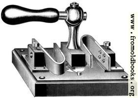 Fig. 72.—Author's Main Switch—Bent Spring Pattern.
