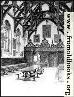 XXIV.—Wadham College, The Hall Interior (greyscale version)