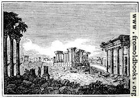 The Ruins of Palmyra.