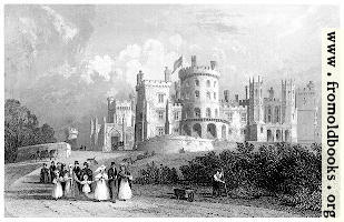 South Front of Belvoir Castle, Leicestershire