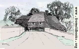 Chiddingfold, Surry (hand-coloured version)