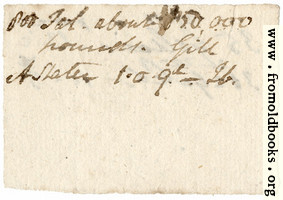 Harwood 2: scarp of paper (other side)