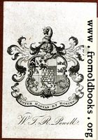 Bookplate: W. T. R. Powell