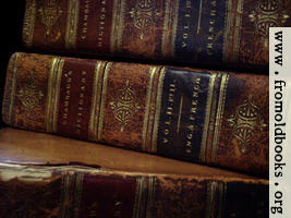 Old Books 3: Chambaud Close-up